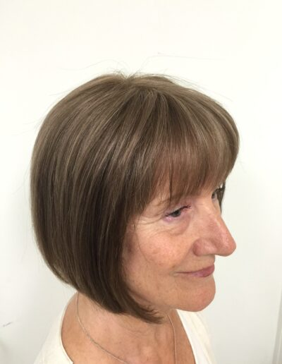 natural looking custom-made wigs by Baguley's of Cheshire