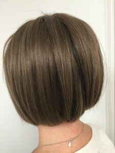 Bespoke ladies wigs by Baguley's of Cheshire