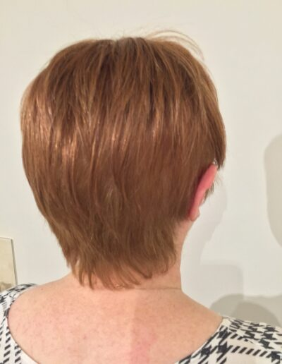Natural handmade wigs for women by Chris Baguley