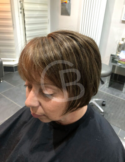 handmade wig for lady with hair loss