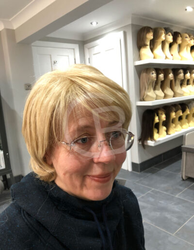 bespoke handmade wigs, cut and styled