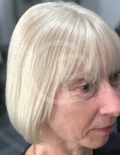 bespoke handmade wig for ladies