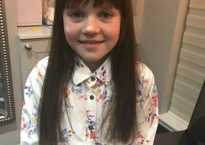 Children's wigs by Christopher Baguley in Cheshire & Manchester.