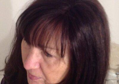 Anne's handmade wig