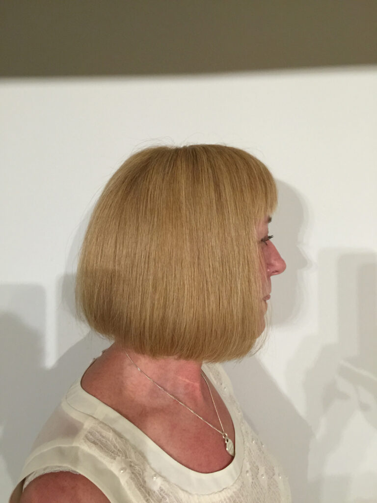 Handmade wigs for women with hair loss by Baguley's of Cheshire