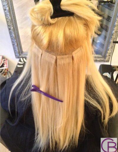 hair piece installation