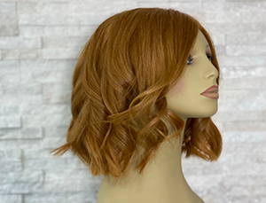 Medium/short length wigs for women by Chris Baguley in Cheshire