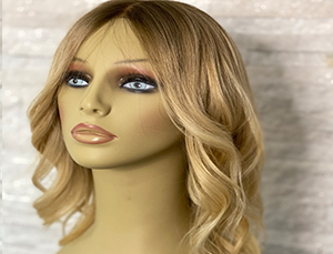 Bespoke wigs with highlights by Chris Baguley