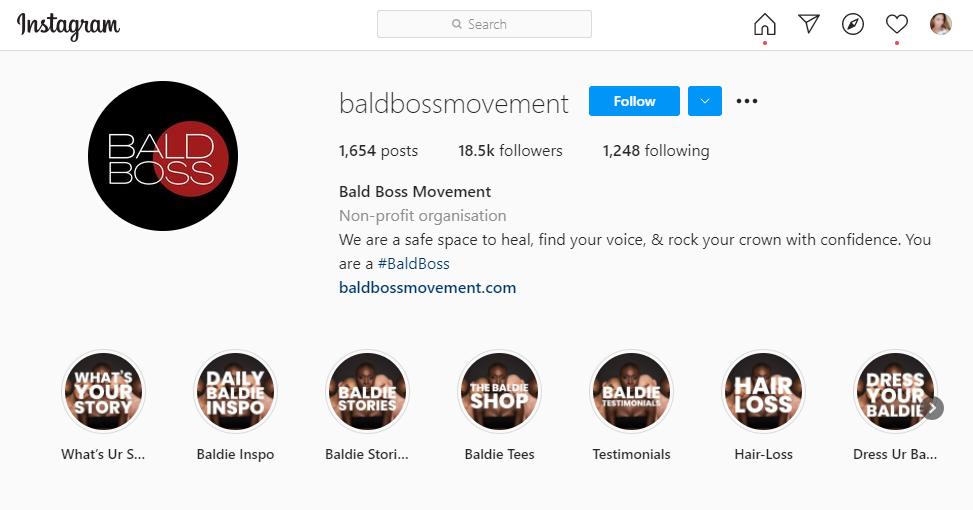 bald boss movement Instagram