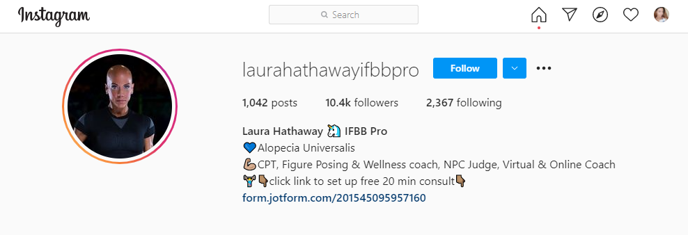 laura hathaway instagram